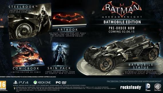 Batman Arkham Knight Batmobile Edition